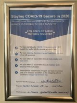 Covid 19 Secure 2020